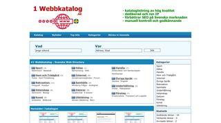 1webbkatalog.se