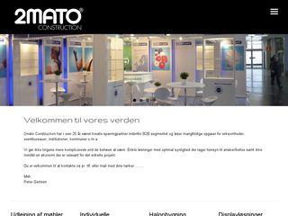 Earlier screenshot of 2mato.dk