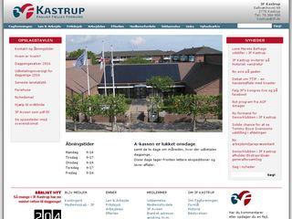 Earlier screenshot of 3fkastrup.dk
