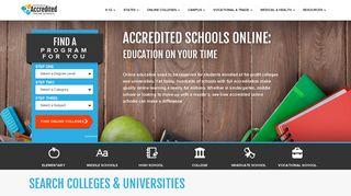 accreditedschoolsonline.org