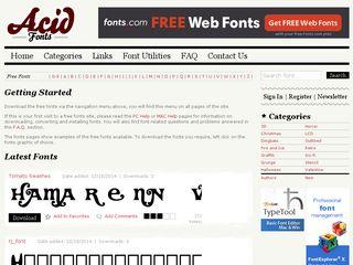 acidfonts.com