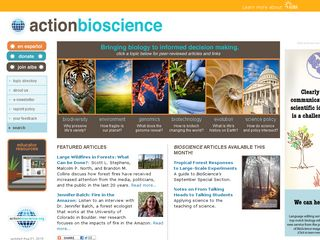 Preview of actionbioscience.org