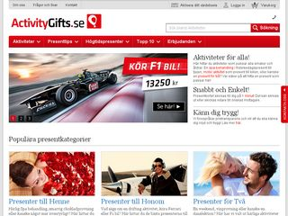 activitygifts.se