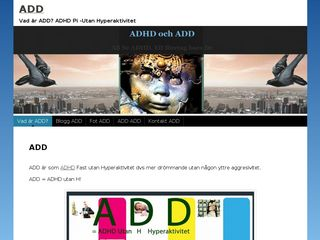 Earlier screenshot of add.n.nu