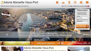 adonis-hotel-vieuxport.com