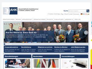 Earlier screenshot of ahk-balt.org