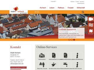 Preview of aichach.de