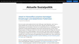 aktuelle-sozialpolitik.de
