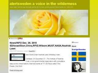 alertsweden.bloggo.nu