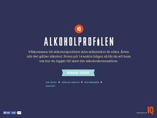 Earlier screenshot of studenthalsanistockholm.se