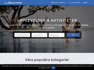 allaaktiviteter.se