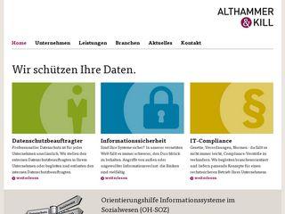 althammer-kill.de
