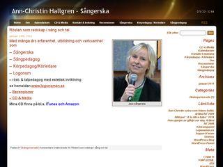annchristinhallgren.se