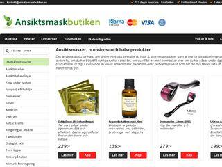 ansiktsmaskbutiken.se