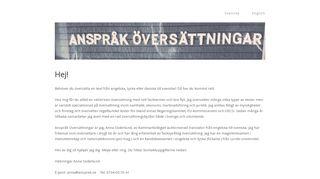 ansprak.se
