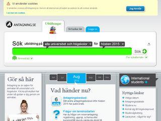 antagning.se
