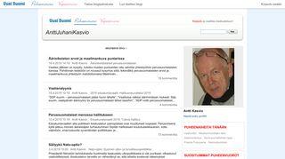 anttijuhanikasvio.puheenvuoro.uusisuomi.fi