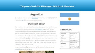 Earlier screenshot of trendic.se