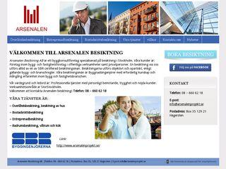 arsenalenbesiktning.se
