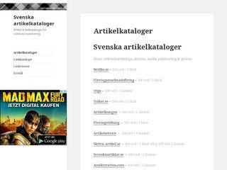 artikelkataloger.se