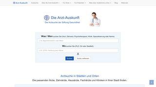 arzt-auskunft.de