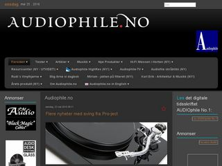Preview of audiophile.no