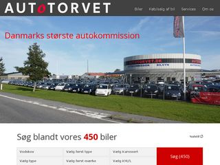 Earlier screenshot of autotorvet.dk