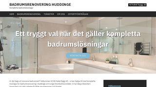 badrumsrenoveringhuddinge.se