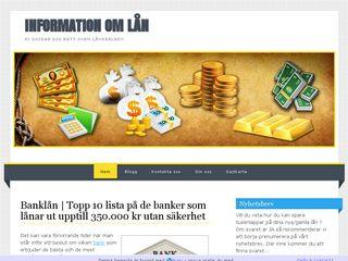 Earlier screenshot of banklan.n.nu