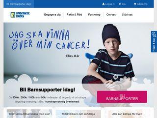 barncancerfonden.se