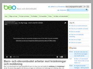 Earlier screenshot of hemmaforaldrar.blogspot.com
