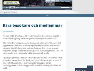 bibelkunskap.se