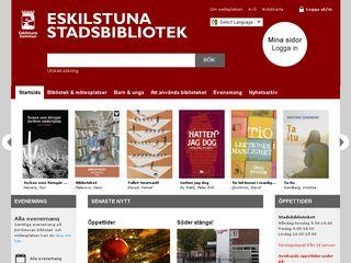 bibliotek.eskilstuna.se