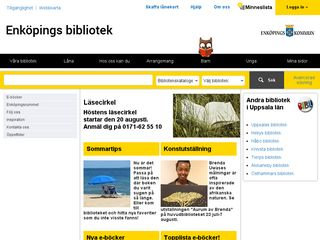 bibliotekenkoping.se