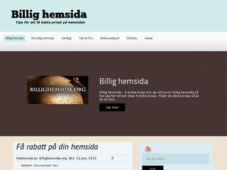 billighemsida.org