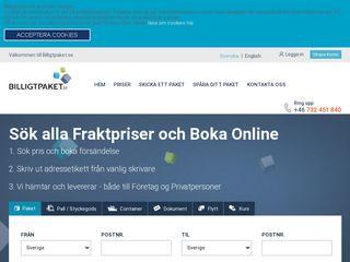 Earlier screenshot of mfshopen.se