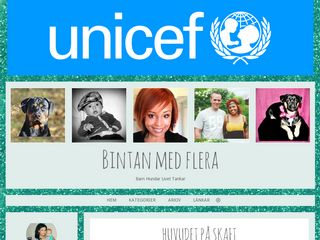 Earlier screenshot of bintan.blogg.se