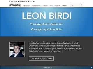Earlier screenshot of larsik.com