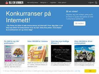 Earlier screenshot of tulevoittajaksi.fi