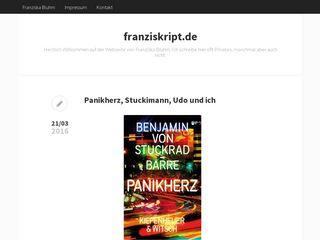 blog.franziskript.de