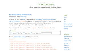 blog.whatwg.org