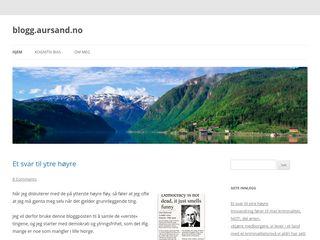 blogg.aursand.no