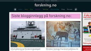 blogg.forskning.no