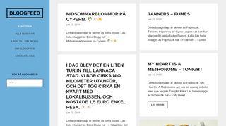 bloggfeed.se