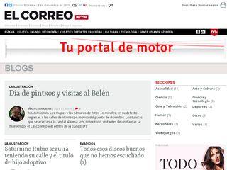 Preview of blogs.elcorreo.com