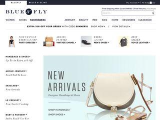 Preview of bluefly.com