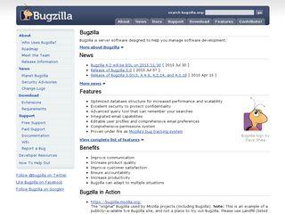Preview of bugzilla.org