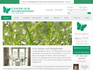 cancerochallergifonden.se