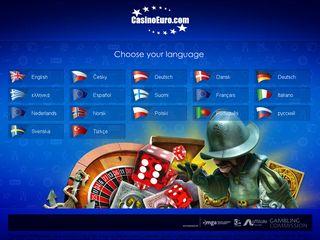 Preview of casinoeuro.com