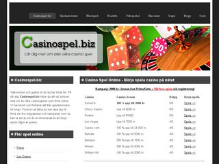 casinospel.biz